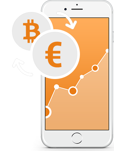 Image of a mobile bitcoin wallet
